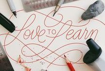 Lettering, Typography, and Calligraphy