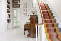 Hallways / Inspiration for the entryway and hallways of the home.