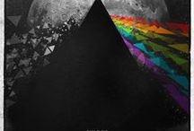 """The Dark Side of the Moon...tributes / """"And with Dark Side it was very much about the madness of the lyrics and about something that Rick said to me. He said """"Could we not have one of your funny pictures, Storm?"""" and I said """"What do you mean? That's what I do. Pictures. How about a change?"""" I said """"But I don't do graphics."""" He said """"Well, why is it a challenge?""""""""  @rollingstone / by Marc Durand-Chastel"""