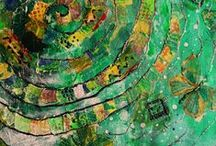 Gelli Prints / by Mary Stang