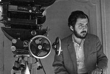 """Stan the Man / """"A film is - or should be - more like music than like fiction. It should be a progression of moods and feelings. The theme, what's behind the emotion, the meaning, all that comes later.""""  Stanley Kubrick / by Marc Durand-Chastel"""