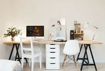 ° spaces: office / office lovelines - clean desks, storage and shelving, all for a peaceful brain ready to make beautiful things happen