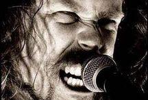 James Hetfield   Metallica / Best rock and metal singer in the world.