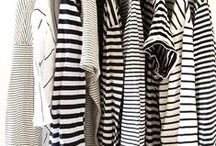 Prin listras / stripes / Roupas  com a estampa listrada