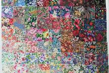 Color wash Quilts / Quilts with beautiful design effects achieved with a color wash effect.