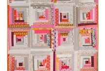 Log Cabin Quilts / One of my favorite quilt designs, the Log Cabin