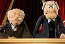 Muppets | Waldorf & Statler / All about the two most funny guys from the Muppets show: Waldorf & Statler / by Hennie Bouwe