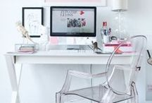 desk space / by Jessica Cobb