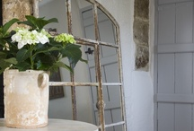 Rustique ~ Rustic Elegance / Interiors and furnishings that are time worn, authentic & without pretense.