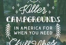 Camping Out / This board is all about camping whether it's in a tent, bus, RV, or camper. You will find information about food, organization, and tips to make camping fun.