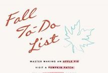 Fall To Do List / by Lauren DeCarli