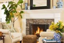 Living Rooms ~ Family Rooms / by Debbie Hodge