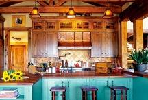 house → kitchen / by Dallas Flint
