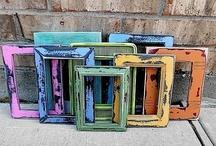 diy ✂ frames / by Dallas Flint