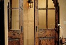 house → doors / by Dallas Flint