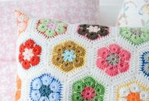 Pillows / A pillow made ever so much special by lace and buttons and whatever your heart desires.