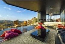 Modern glass houses