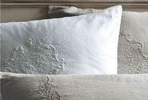 Ticking and Toile ~ Linens