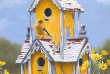 For The Birds / Birds, anything pertaining to birds. Bird houses, etc. / by Cozy Little House