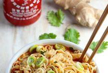 My Recipe File Box:  Sriracha
