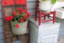 Outdoor Decor / Anything outdoors that is there for decorative purposes. / by Cozy Little House