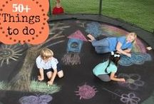 Trampoline Games / Enjoy the time on your trampoline with these fun games for the whole family!