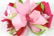 Granddaughter's Hair Bows / by Ina Bentley