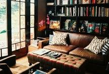 Home Ideas:  Living Library