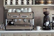 Home Ideas:  Coffee & Tea Bar
