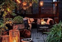 Outdoor Rooms / Spaces outdoors that resemble rooms