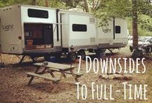 Full Time RVing / Traveling or Camping Full-Time. Here are suggestions, resources, ideas, and tips for Full-Time RVers.