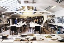 PROJECTS - Kelly Hoppen HQ / My fantastic design studio in Chiswick. A perfect space for design and creativity.