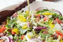 Recipes: Soups and Salads / Soup and Salad for main dishes or sides