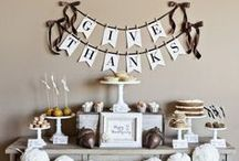 Holidays: Thanksgiving and Fall / Crafts, DIY, and Decor for Thanksgiving and Fall