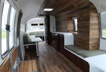 Airstream Redos / Airstream designs can easily be created in a converted school bus. Check out these Airstream Ideas to use in your school bus conversion.