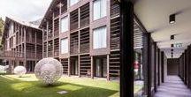 Mirtillo Rosso Architecture /  Mirtillo Rosso Family Hotel in Italy (Piedmont, Italian Alps). Bronze in Interior Design / Hospitality, American Architecture Prize 2016. Design by Rita Cattaneo.