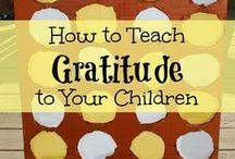 Raising Children / Tips for raising children, entertaining them, instilling good values in them