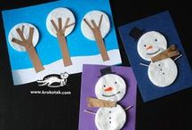 CHRISTMAS and WINTER craft for kids / CHRISTMAS and WINTER craft for kids / by Кrокотак
