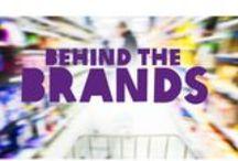 Behind the Brands / De tien grootste levensmiddelenbedrijven wereldwijd zijn machtig. Ze hebben veel invloed op het wereldwijde voedselsysteem. Uitgebreid onderzoek van Oxfam toont aan dat het beleid en de werkwijze van deze 'big ten' beter kan. Veel beter. Jij, als consument, kunt het verschil maken. Do it yourself: roep bedrijven op hun beleid te veranderen, kijk op www.behindthebrands.nl!