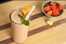 Smoothie Recipes / Jump start your day with a healthy smoothie that sneaks protein, antioxidants, fiber, and more into your diet. Here are some of our favorite smoothie recipes.  / by DailyBurn
