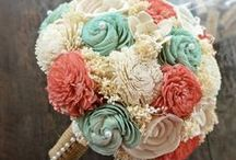 """It was """"Mint"""" to be! Nick & Scotti's Wedding / October 24th 2015 Colors-Mint, Blush, Coral & Gold / by Scottie Teal"""