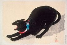 Cats / We present you with cat-themed art from LACMA's collection.