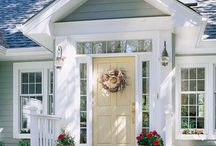 Curb Appeal Needed / Ideas and images to inspire our curb appeal renovations.