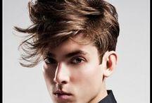Corban N. Hair Inspiration Board / A inspiration board for the creative process.