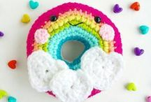 ♥ in our kids etsy shop / me & my two girls are finding rainbows in the everyday - making kids jewelry, character backpack charms & crocheted plush