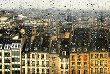 Paris In The Rain / by Kim Petyt | parisian events