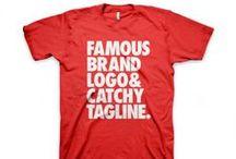 Tees + Shirts / The best T-shirt design.