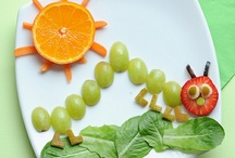 Food: Healthy treats / Clever and colourful ideas for healthy food for the kids