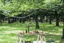 Garden and garden party  / Décoration extérieure / by ★ clαιrє ★ { De Beaux Souvenirs }