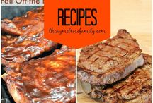 Recipes | Grillin' Time / by Michelle Fahring